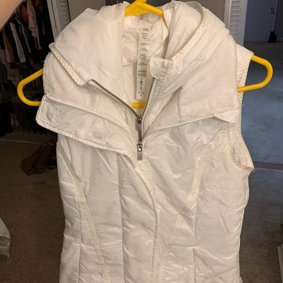 White Lululemon Vest